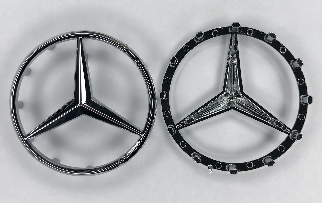 Эмблема шильдик Наклейка Mercedes на руль A,AMG GT,B,C,CLA,CLC,CLK,CLS,E,G,GLA, GLC,GL,GLE,GLK,GLS,M,S,SLC,SL