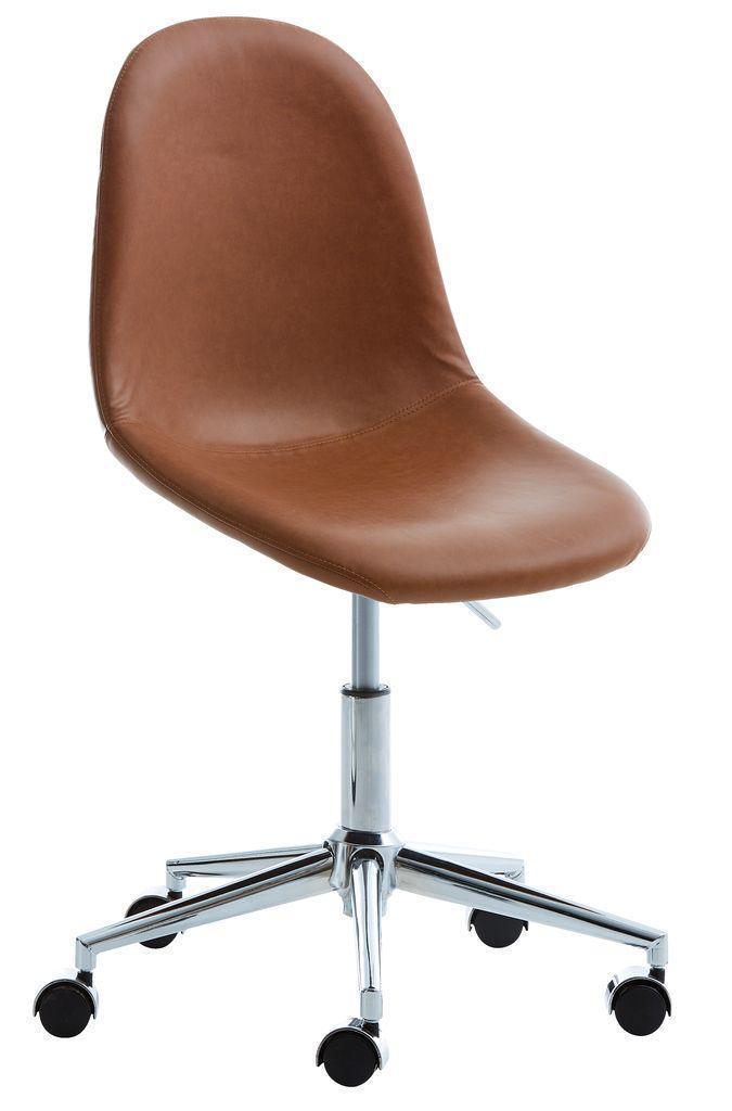 🏡Кресло офисное искусственная кожа и хромированная основа | кресло офис, кресло офисное, кресло компьютерное, кресло комптютерное, кресло черное