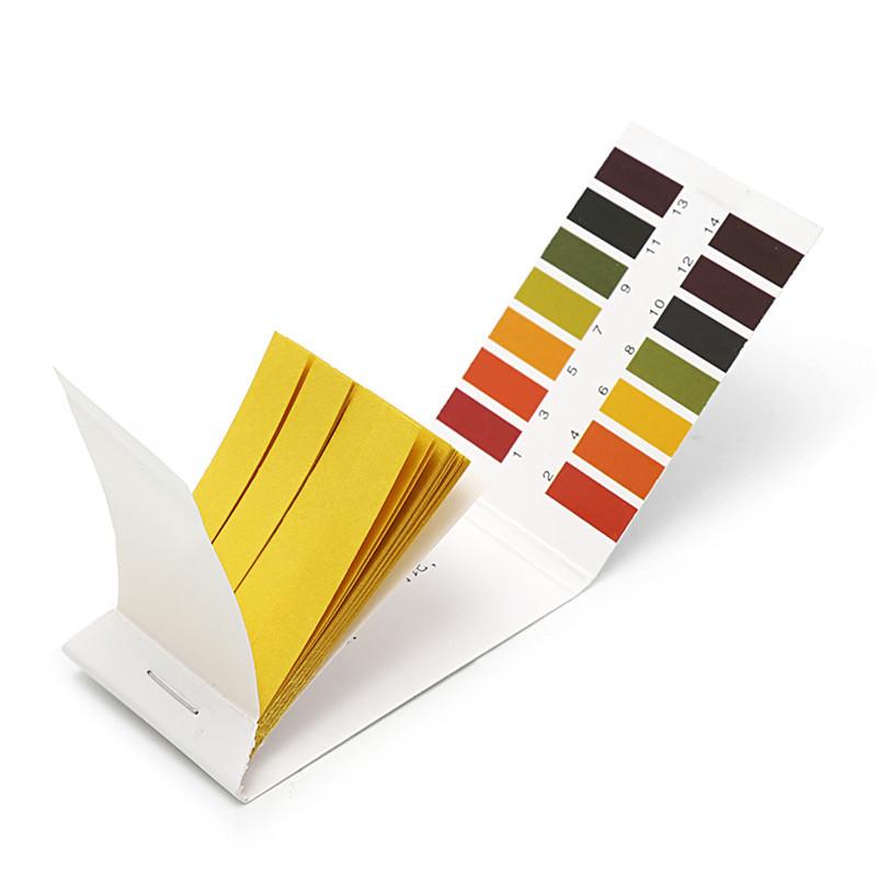 Лакмусовая индикаторная бумага pH тест (0-14 pH) 80 полосок