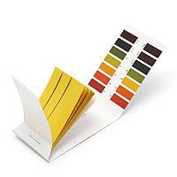 Лакмусовая индикаторная бумага pH тест (0-14 pH) 80 полосок, фото 1