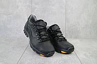 Повседневная обувь мужские Yuves 559 черные (натуральная кожа, весна/осень), фото 1
