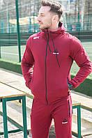 Спортивный костюм Reebok UFC . Мужской спортивный костюм . Весна/Лето. Бордовый