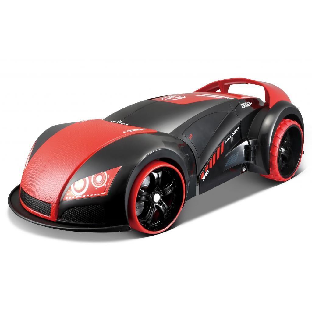 Автомобиль Maisto трансформер Street Troopers Project 66 (81107 black/red)