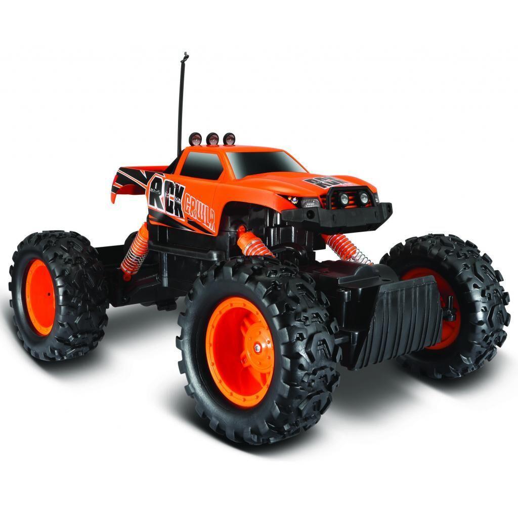 Автомобиль Maisto Rock Crawler оранжевый (81152 orange)