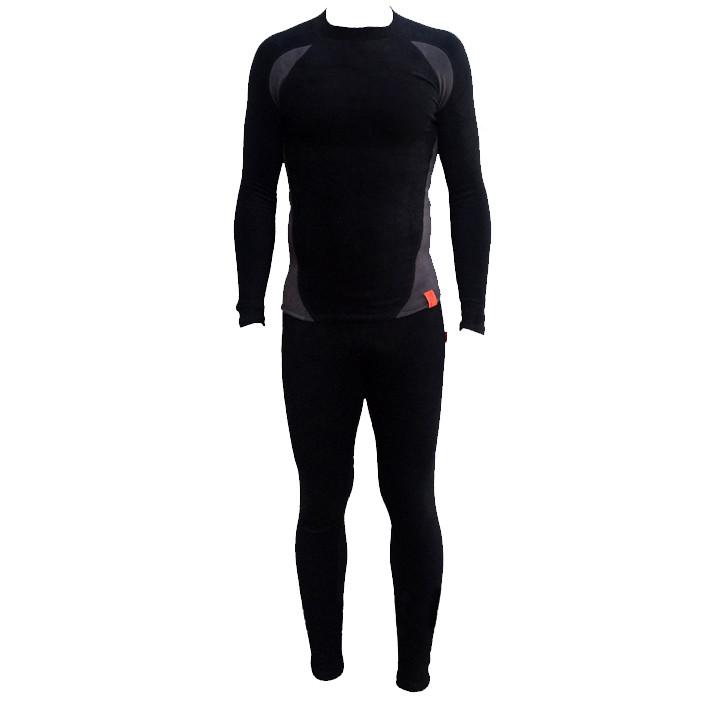 Термобелье корал-флис черное