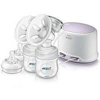Молокоотсос Philips AVENT Comfort двойной электрический (SCF334/02)
