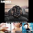 Спортивні водонепроникні годинники Skmei 1243 Black-Red, фото 3