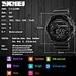 Спортивні водонепроникні годинники Skmei 1243 Black-Red, фото 6