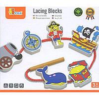Развивающая игрушка Viga Toys Пират (59852VG)