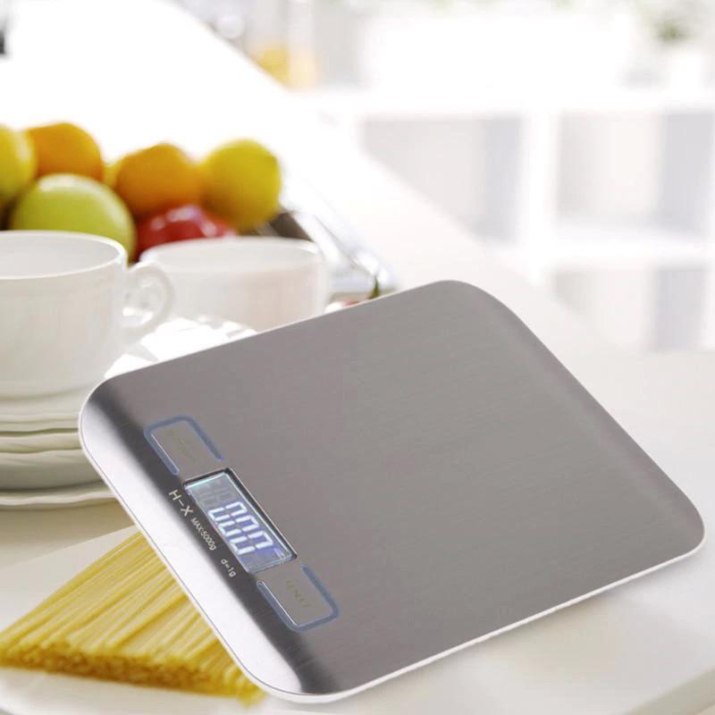 Весы кухонные Lux SF 2012 5 кг (проверенные, с батарейками)