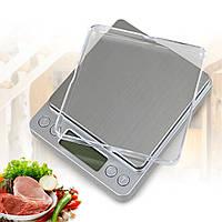 Весы кухонные TOP Scale 3000 3 кг (с 2 чашами + батарейки), фото 1