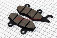 Тормозные колодки дисковые с ухом задние к-т(2шт.)