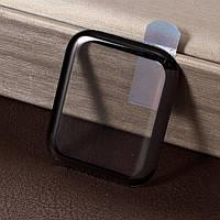 Защитное стекло для Apple Watch series 4 40mm, Full glue, 3D, черное