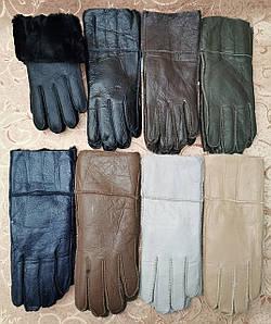 Теплые меха женские перчатки только оптом
