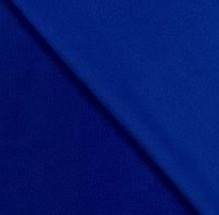 Флис, флисовая ткань(ш 160 см) цвет электрик для пошива теплых вещей, покрывал, спортивных костюмов, одежды д