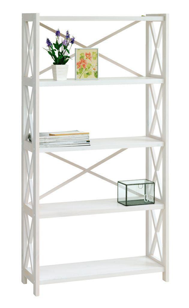 🏡Стеллаж 5 полок белый (массив сосны) | Стеллаж, Стеллаж белый, Стеллаж 5 полок, Стеллаж дерево