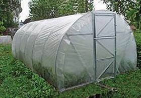 Арочная теплица под пленку 3х6х2 м.