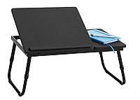 🏡Столик-подтавка для ноутбука черный   компьютерный столик, столик для ноутбука трансформер, столик для ноутбука, столик для ноута, столик для, фото 1
