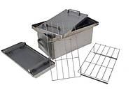 Коптильня Малая для горячего копчения с гидрозатвором (450х250х250)