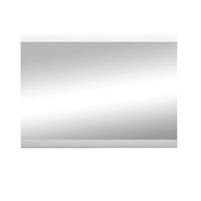 Зеркало на стену Ацтека LUS белый/белый глянец