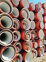 Труба гофрированная 300х6000мм для наружной канализации