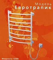 Электрический полотенцесушитель Евротрапик Хром