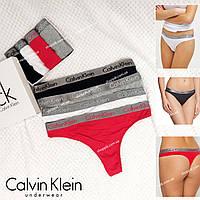 Женское белье Calvin Klein Radiant  Женские трусы стринги 1 шт  Реплика