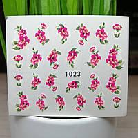 Слайдер-дизайн №1023  (водные наклейки)