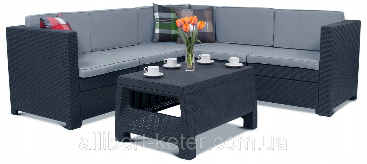 Комплект садовой мебели Allibert Provence Set