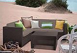 Комплект садових меблів Allibert Provence Set, фото 5