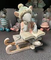 Статуэтка Новогодняя Мышка 192-009. Символ 2020 года