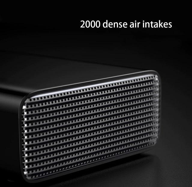 Автомобильный насос компрессор Baseus Smart Inflator Pump CRCQB01-01 Черный