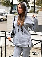 Костюм модный спортивный свитшот с капюшоном и брюки Dfl1888