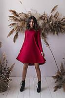 Теплое платье трапеция, фото 1