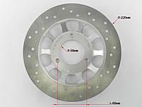 Диск тормозной GY6-50/60/80/125/150сс, (Тарелкой) с выносом