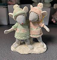 Статуэтка Мышки Друзья 192-016. Символ 2020 года