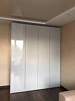 Шкаф в современном стиле с фасадами мдф краска глянец, фото 1