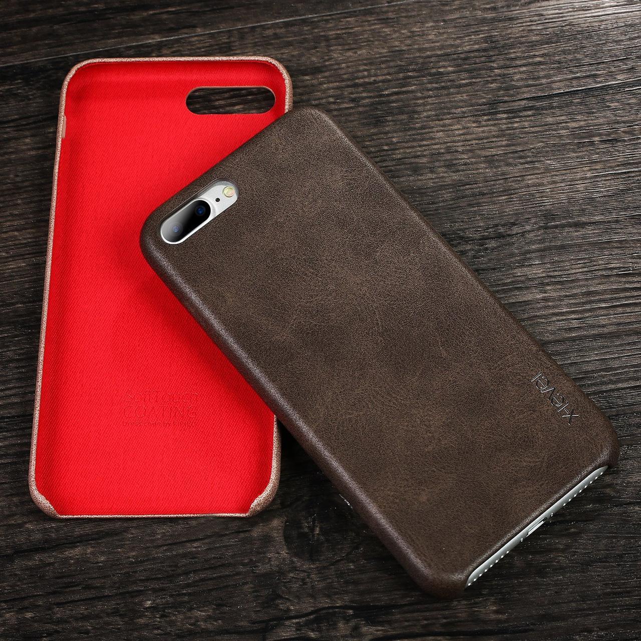 Чохол для iPhone 7 Plus / 8 Plus X-Level Vintage Case Коричневий