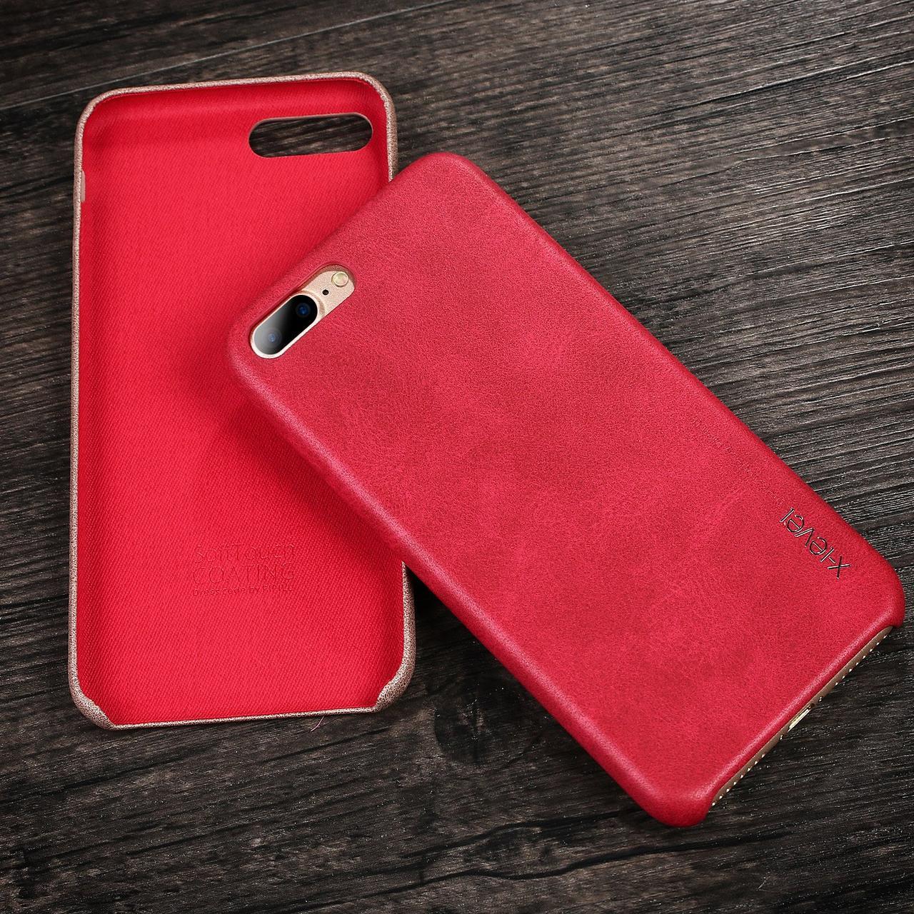 Чохол для iPhone 7 Plus / 8 Plus X-Level Vintage Case Червоний