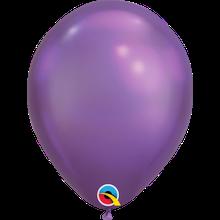 """Латексна кулька хром Фіолетовий 11"""" / 28см Purple Qualatex (США)"""