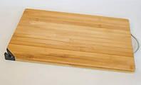 Бамбуковая Разделочная Доска И Точилка Для Ножей Zurrichberg ZB 2039 Размер 37х23х1.8 См