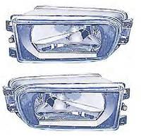 Противотуманная фара для BMW 5 E39 '96-00 левая (Depo) гладкое стекло