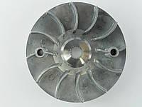 Крыльчатка (щека) вариатора 4т GY6-125/150сс (аллюминиевая)