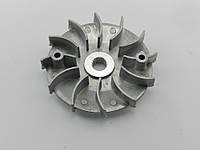Крыльчатка (щека) вариатора 4т GY6-125/150сс с улучшеным охлождением (аллюминиевая)
