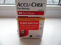 9 упаковок-Тест смужки Акку чек перформа (50 шт) 30.04.2021 р.
