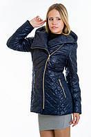 Куртка косуха женская демисезонная синяя №14 WW 42-52 размеры