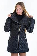 Куртка косуха женская демисезонная черная №14 WW 42-52 размеры