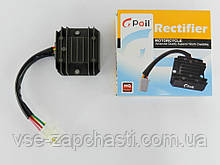 Регулятор напряжения 4т GY6-125/150сс 4 провода (фишка папа) Gpoil