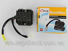 Регулятор напряжения 4т GY6-125/150сс 5 проводов (3+2 фишка мама) Gpoil