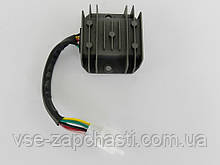 Регулятор напряжения 4т GY6-125/150сс 6 проводов (фишка папа)